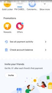Google pay invite
