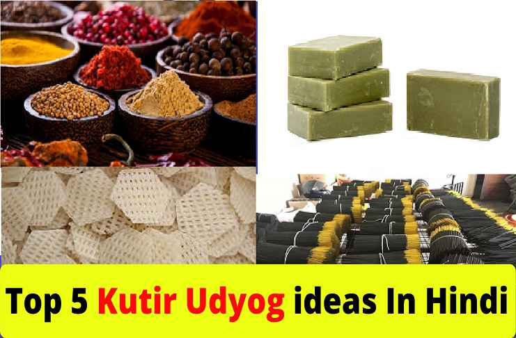 Kutir Udyog ideas In Hindi