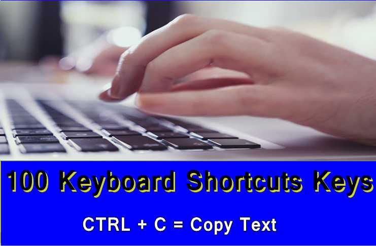 Shortcut Keys in Computer
