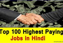 Highest Paying Jobs in Hindi