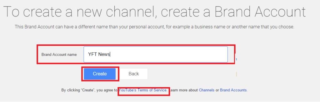 youtube brand name
