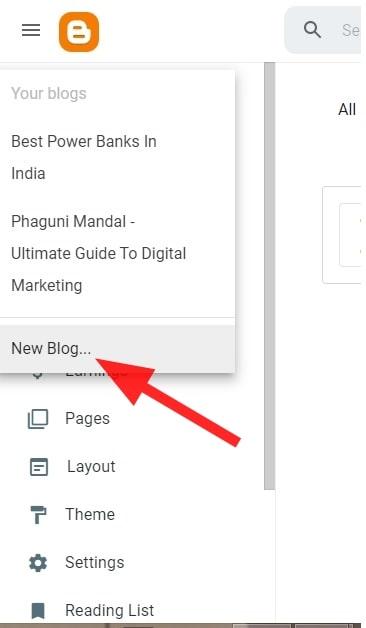 Free Blog on BlogSpot