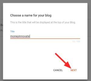 Free Blog on BlogSpot2