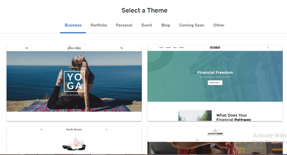 create blog on Weebly 2