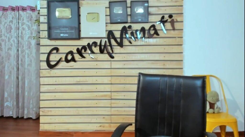 CarryMinati studio