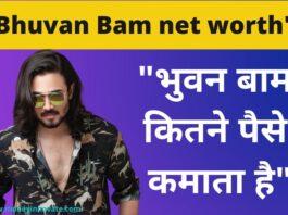 bhuvan bam net worth