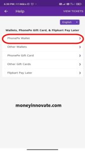 how to use phonepe wallet money