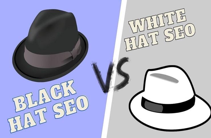Black Hat SEO Vs White Hat SEO Me Kya Difference hai