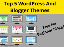 Top 5 WordPress And Blogger Themes