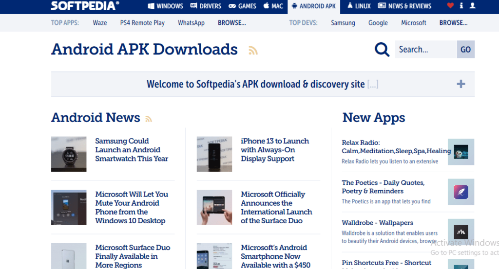 Softpedia - Free Apps Downloads