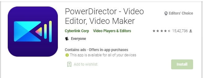 Power Director – Video Editor App