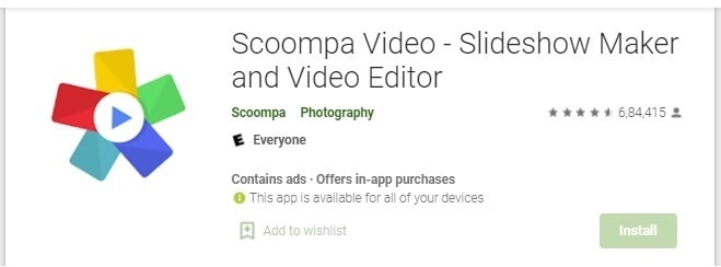 Scoompa Video- Slideshow Maker and Video Editor