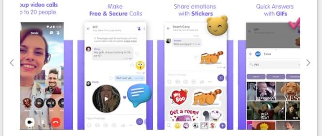 Viber Messenger Video Call Apps