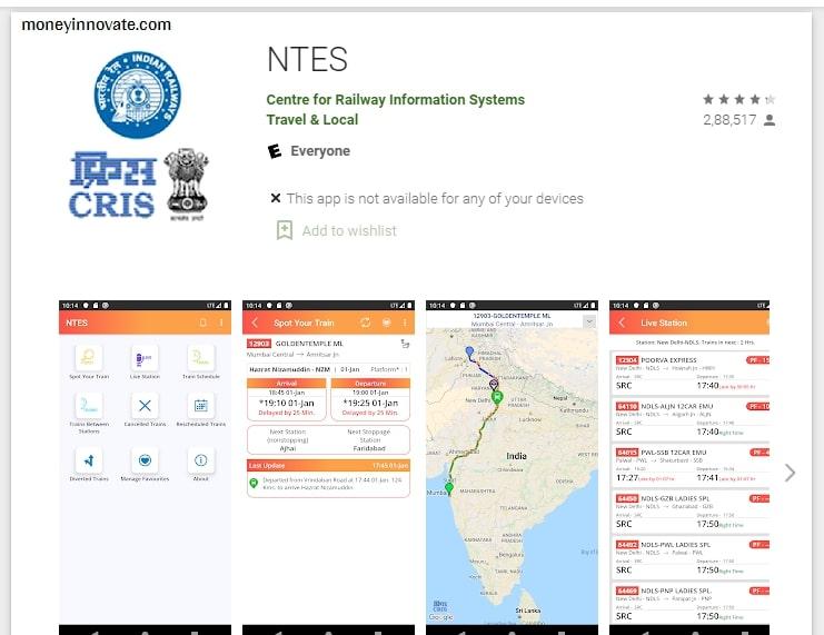 train ka time dekhne wala apps