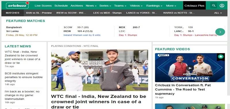 Cricbuzz – Live Cricket Scores & News