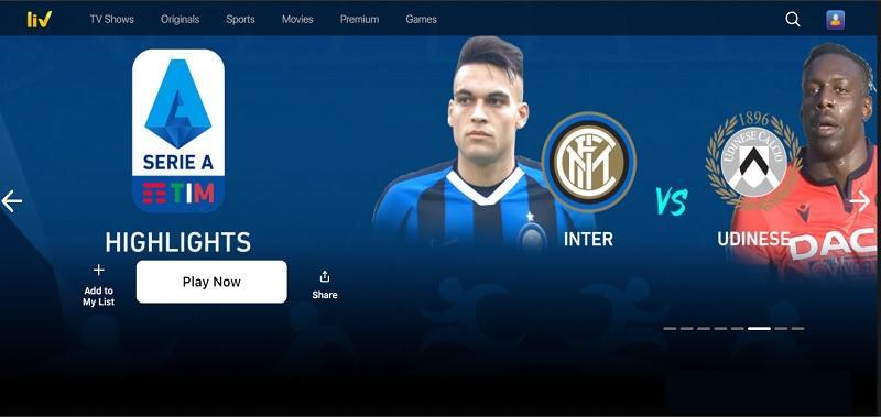 SonyLIV – Live Sports - Match देखने वाला App