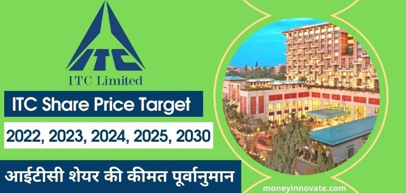 ITC Share Price Target 2022, 2023, 2024, 2025, 2030