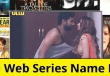 Ullu Web Series Cast Ullu Web Series Watch Online
